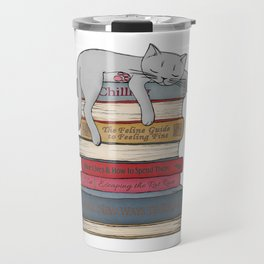 How to Chill Like a Cat Travel Mug