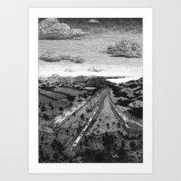 'Depot' Art Print