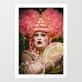 Madame Dotty Art Print