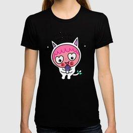 Pinky & choco : MIAW MIAW T-shirt
