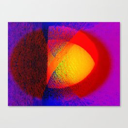 Abstract pattern in colors Canvas Print