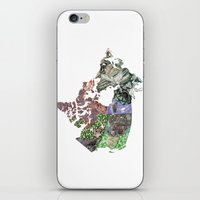 canada iPhone & iPod Skins featuring Canada by minouette