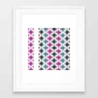 kilim Framed Art Prints featuring Kilim by 603 Creative Studio