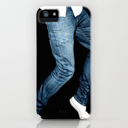 blue jeans on  iPhone Case