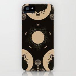 Ouija Wheel of the Moon - Beyond the Veil iPhone Case