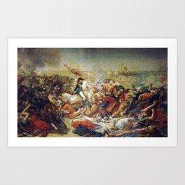 The Battle of Abukir, 25 July 1799 by Antoine-Jean Gros (1807) Art Print