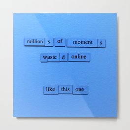 Millions Of Moments Metal Print