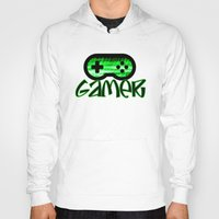 gamer Hoodies featuring Gamer Green by UMe Images