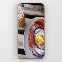 swedish iPhone & iPod Skins featuring Swedish fika by Jeanette Perlie