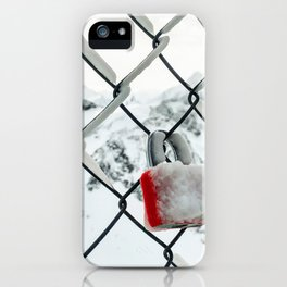 Fenced Love iPhone Case