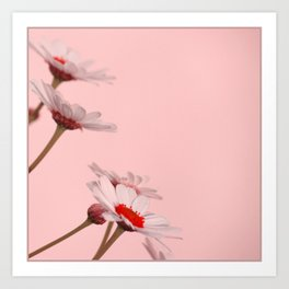 Flower in Chinese mood Art Print