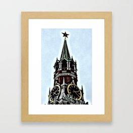 Kremlin Chimes-dramatic Framed Art Print