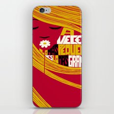 Sometimes the Smallest is the Greatest. iPhone & iPod Skin