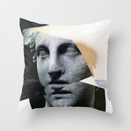 Untitled (Painted Composition 8) Throw Pillow