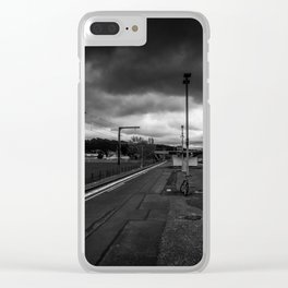 Heretaunga Station Platform Clear iPhone Case