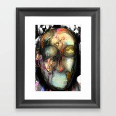 Strange Man Framed Art Print