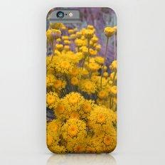 Yellow flowers iPhone 6s Slim Case