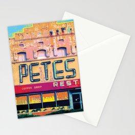 Pete's Restaurant Vintage Stationery Cards