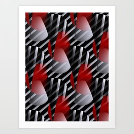 crazy patterns -4- Art Print