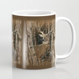 Deer - Birchwood Buck Coffee Mug