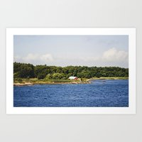 finland Art Prints featuring Åland, Finland by Valeria Marelli