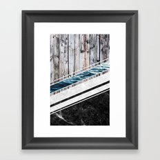 Striped Materials of Nature I Framed Art Print