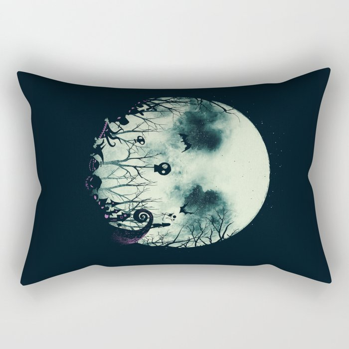 Halloween Town Rectangular Pillow