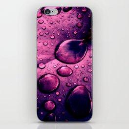 water drops XIIX iPhone Skin
