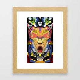 Blue Team Squadron Leader Framed Art Print