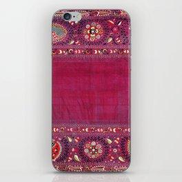 Shakhrisyabz  Southwest Uzbekistan Suzani Embroidery Print iPhone Skin