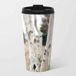 Line of Birches Travel Mug