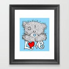 ME TO YOU=LOVE Framed Art Print