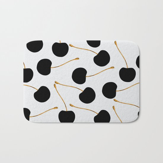 Black Cherries Bath Mat