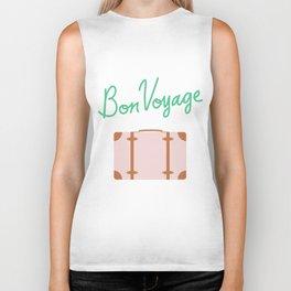 Bon Voyage \\ Suitcase Biker Tank
