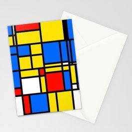 Mondrian Style Stationery Cards