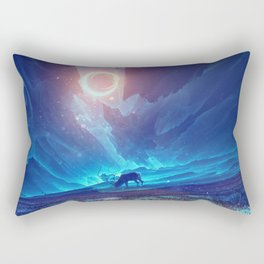 Stellar collision Rectangular Pillow