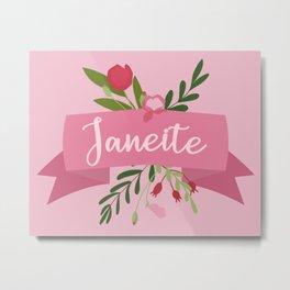 Janeite II Metal Print