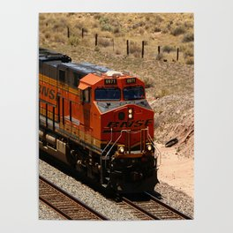 BNSF Engine Poster