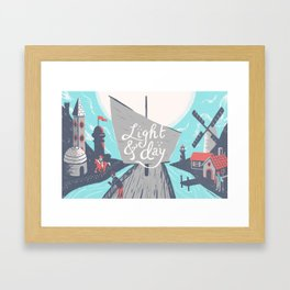 Graft - Light & Day Framed Art Print