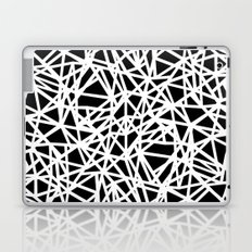 Ab Upside down Black Laptop & iPad Skin