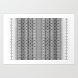 ZigDag Art Print