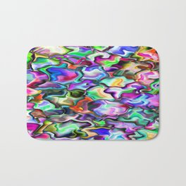 unusual abstract art design background Bath Mat