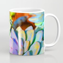 Succulent Color - Botanical Art by Sharon Cummings Coffee Mug