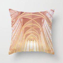 Saint Chapelle Paris Throw Pillow