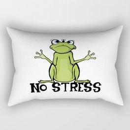 no stress Rectangular Pillow
