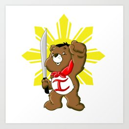 Care Bears Bonifacio Art Print