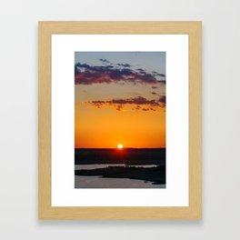 Bright and Shine Framed Art Print