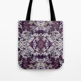 Mirrored Lichen Tote Bag