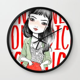 Kathleen Wall Clock