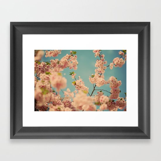 Party in Pink Framed Art Print